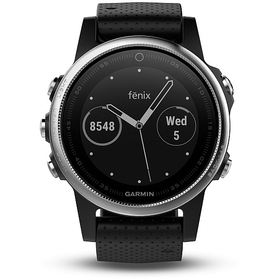 GARMIN fénix 5S Silver Black band