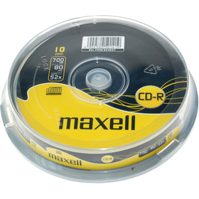 MAXELL CD-R 700MB 52x 10SP