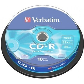 VERBATIM CD-R 700MB 52x 10SP