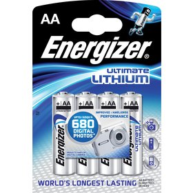 ENERGIZER ULTIMATE LITH. FR6/AA 4x