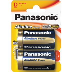 PANASONIC LR20 2BP D Alk Power