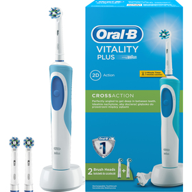 ORAL B VITALITY PLUS CROSS
