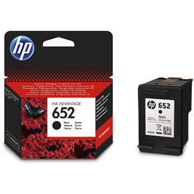HP HP 652 Black (F6V25AE)
