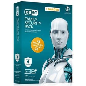ESET BOX Family Security Pack 4/18