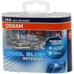 OSRAM H4 COOL BLUE INTENSE