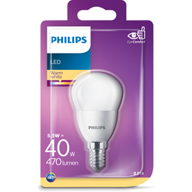 PHILIPS LED 40W E14 WW 230V P45 FR ND
