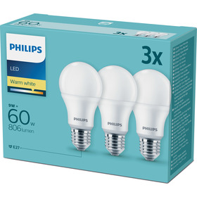 PHILIPS LED 60W A60 E27 230V WW FR  3C